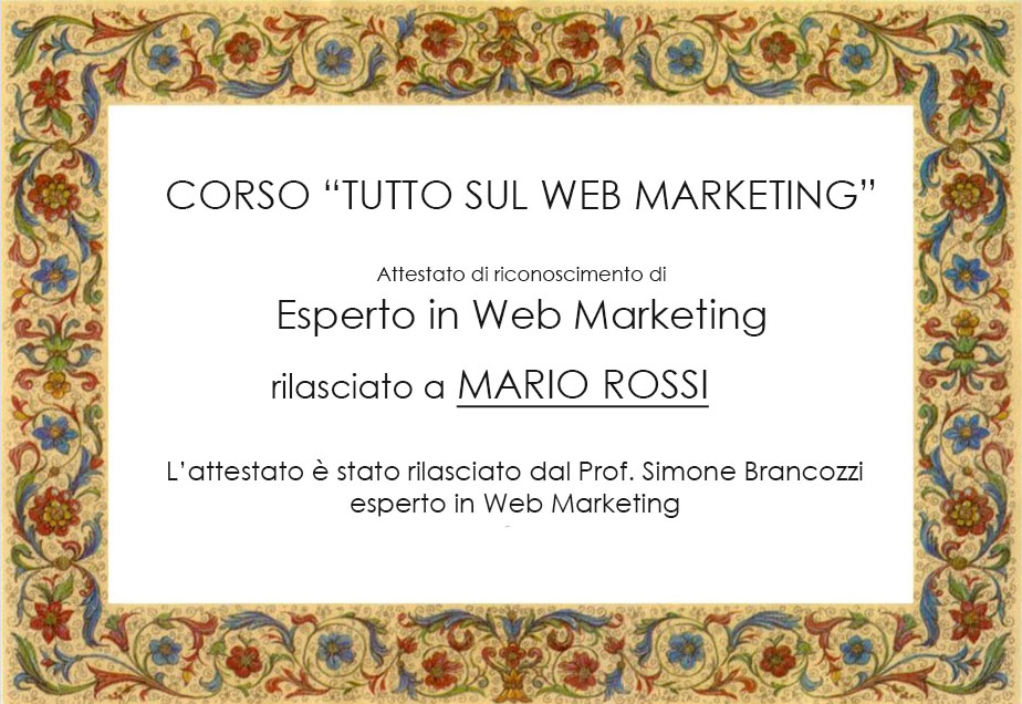 attestato-webmarketing-milano